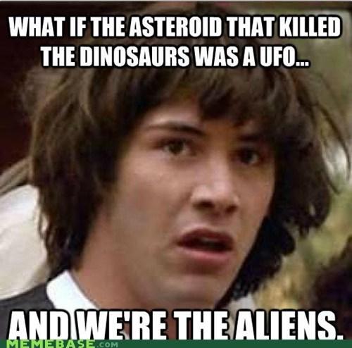 Aliens,asteroid,dinosaurs,joanna newsom,ufo