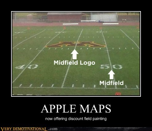 apple just wrong logo map