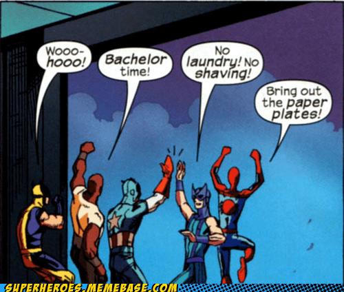 avengers bachelor weird wtf - 6618407424