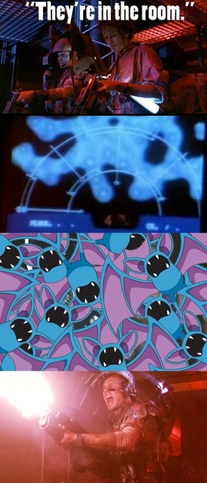 alien,game over,zubats