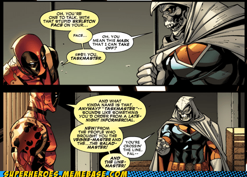 deadpool dynamic duo off the page taskmaster wtf - 6618594560