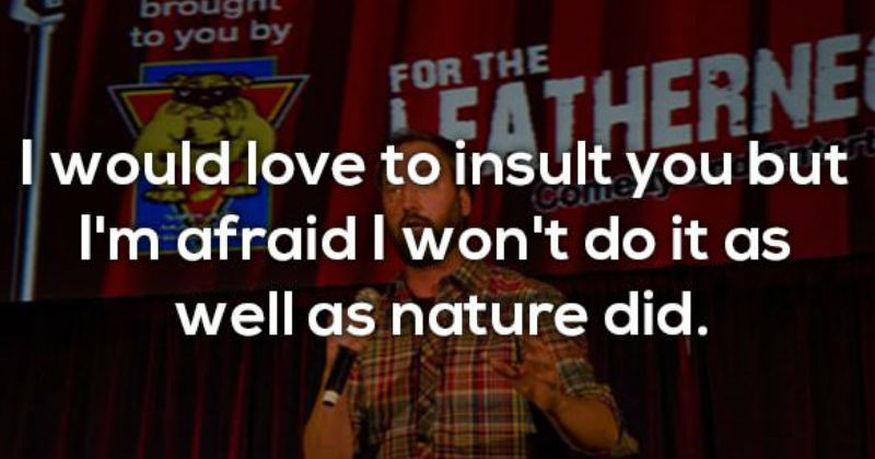 ridiculous insult brutal funny harsh - 6618629