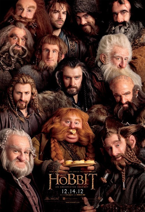 all-dwarf movie poster,Lord of the Rings,The Hobbit