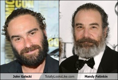 actor celeb funny johnny galecki Mandy Patinkin TLL - 6619081216