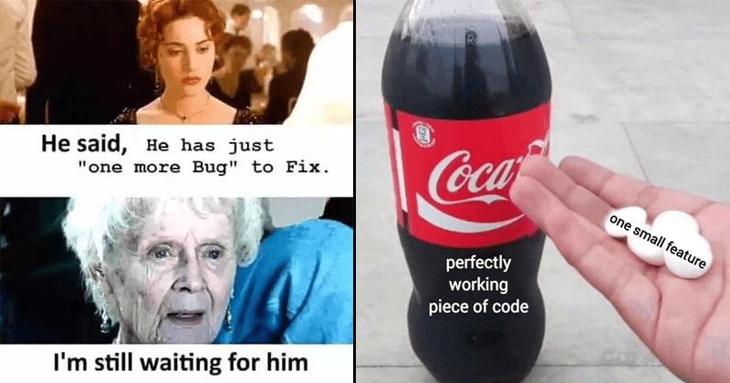 Funny nerdy programming memes.