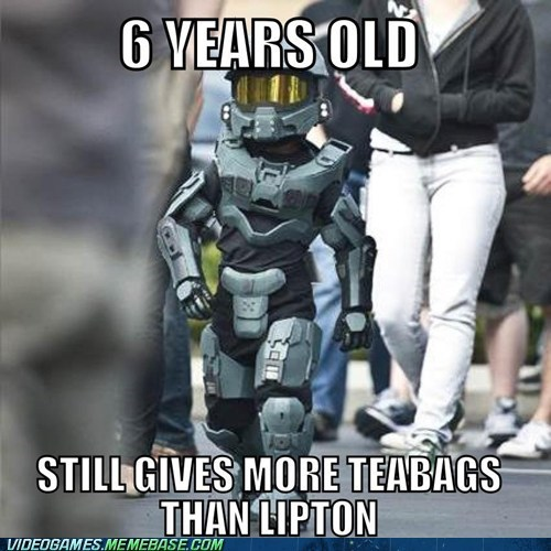 cosplay halo master chief teabag - 6619229184