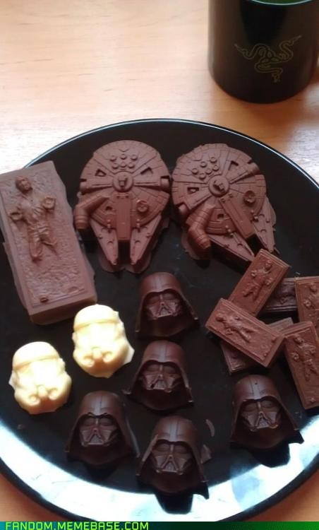 chocolate,noms,scifi,star wars