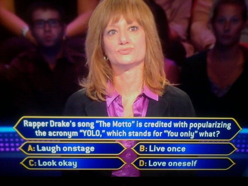 Drake funny game show Music yolo