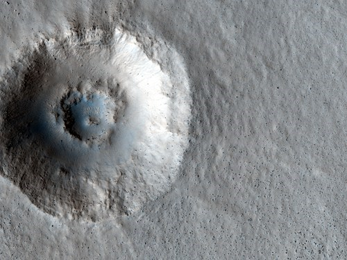 asteroid crater double impact Mars - 6619305472