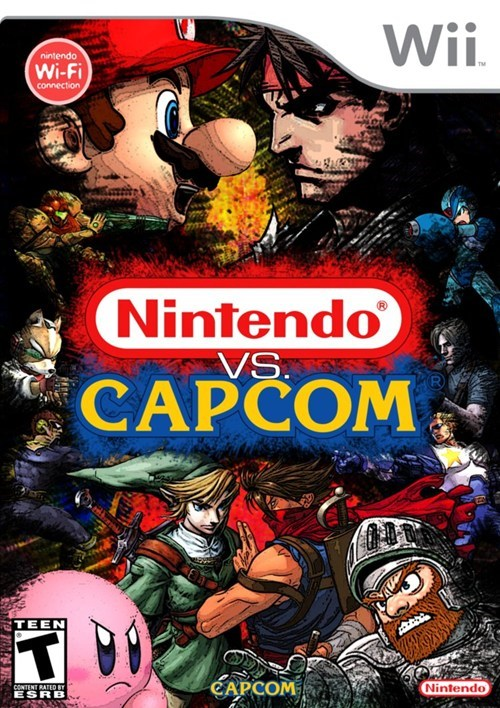 capcom nintendo shut up and take my money - 6619332096