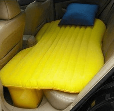 car homeless inflatable mattress recession sleep
