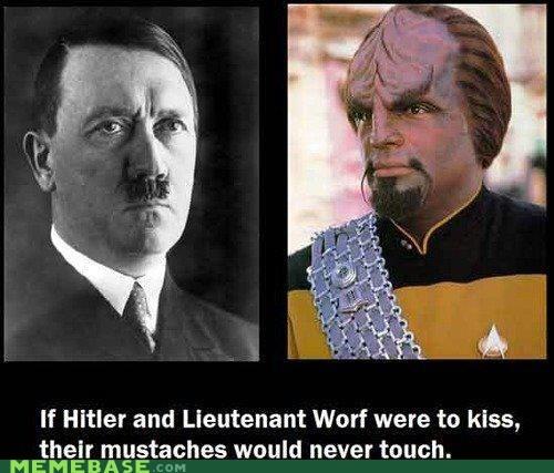 hitler,mustache,otp,Worf