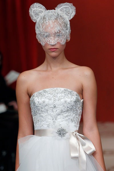 bear dress ears fashion veil - 6619544320