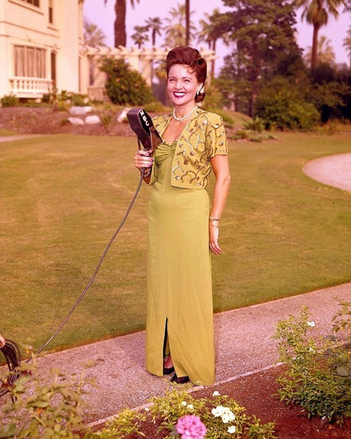 betty white,celeb,classic,lawn,microphone