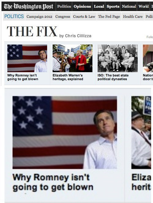 bj,blown,copy editing,headline fail,Mitt Romney,washington post
