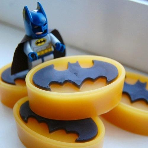 batman,DIY,nerdgasm,soap