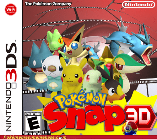 Sad pokemon snap 3DS pls nintendo just a dream - 6620028672