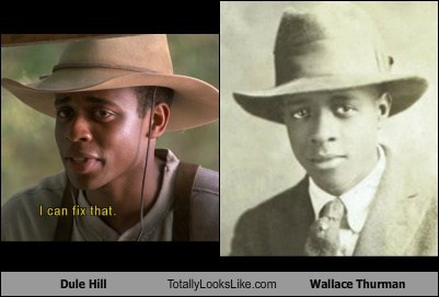 actor,celeb,dule hill,funny,TLL,wallace thurman