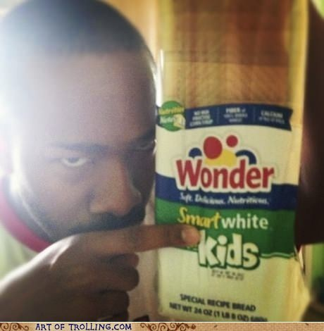 IRL racist white wonder bread