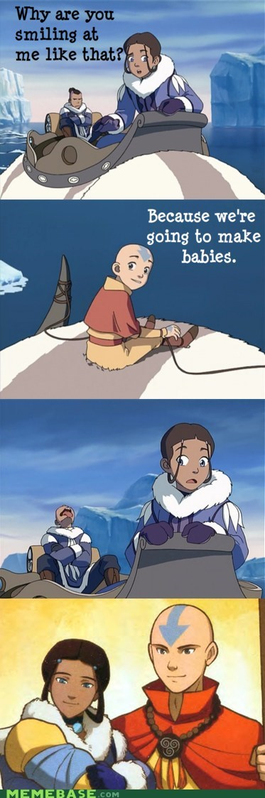 aang,Avatar the Last Airbender,katara,shipping