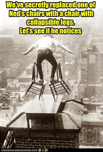 chairs chimney balance rooftop foolish categoryimage - 6620957952