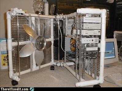 computer,computer tower,cooling,fan