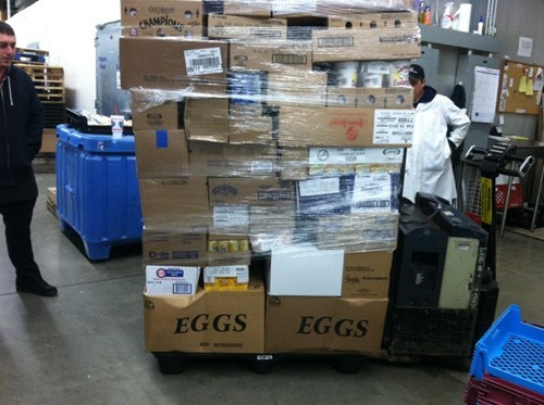 boxes,eggs,packages,stacking,monday thru friday,g rated