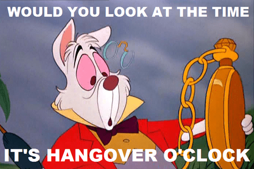 end of the weekend hangover-oclock happy sunday hungover - 6621363456