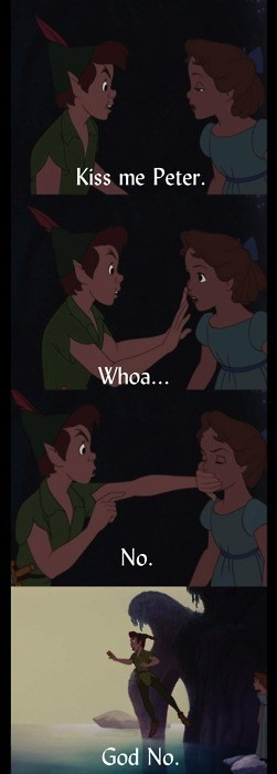 cray cray,hell no,Movie,peter pan