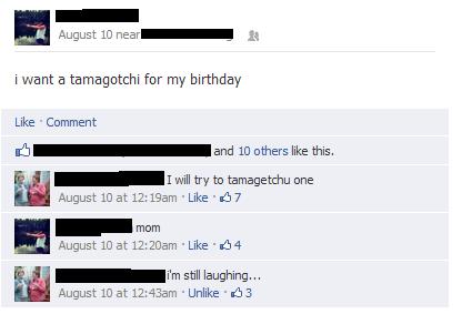 facebook,pun,Tamagotchi