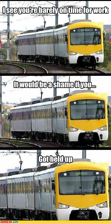 late for work train troll - 6621775104