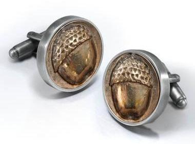 acorns bilbo cufflinks hobbit categoryimage - 6621860608