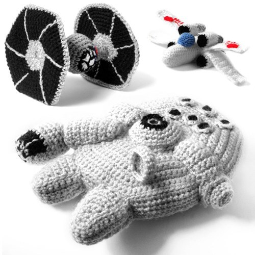 Amigurumi Crocheted Movie Plush ships star wars - 6622020864