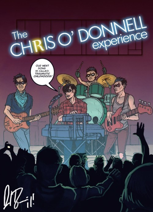 art band chris-o-donnell robin wtf - 6622057216