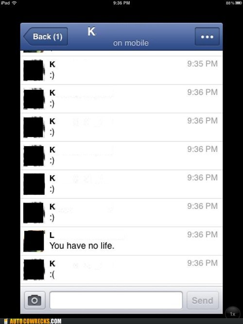 no life emoticons facebook chat - 6622247680