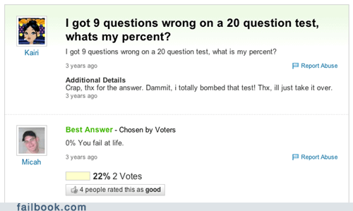 school tests yahoo answers exams