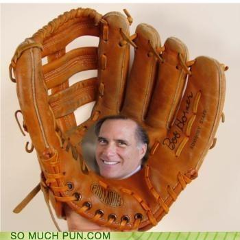 baseball mitt double meaning literalism mitt Mitt Romney shoop - 6622407424
