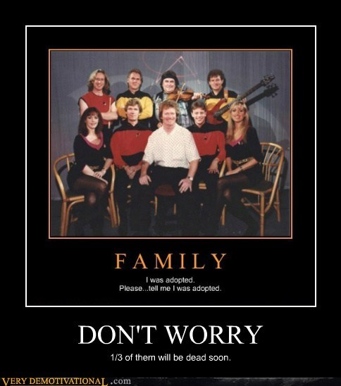 dont worry,red shirts,Star Trek,uh oh