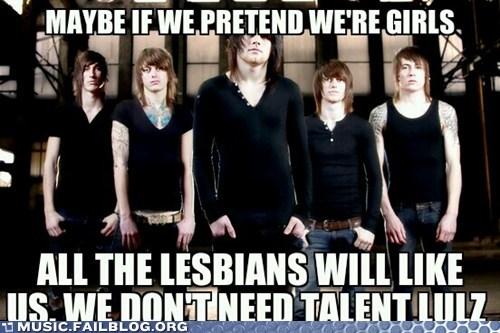 lesbians some emo band - 6622561792