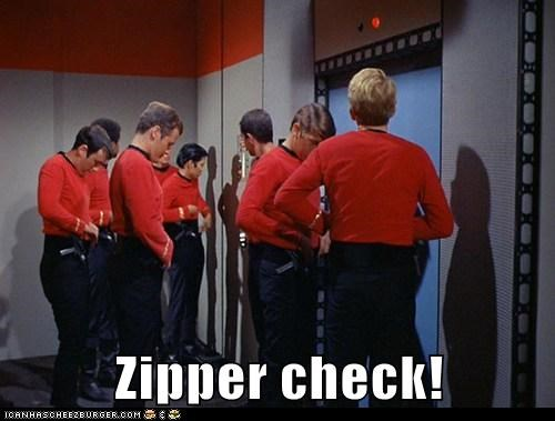 zippers,dignity,dying,redshirts,Star Trek,check