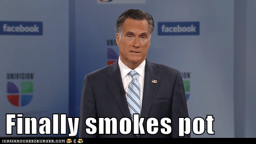 Univision,finally,smokes,Mitt Romney,high