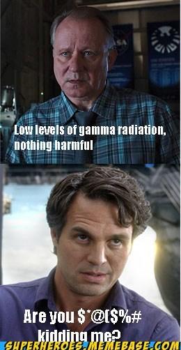 bruce banner,gamma radiation,hulk