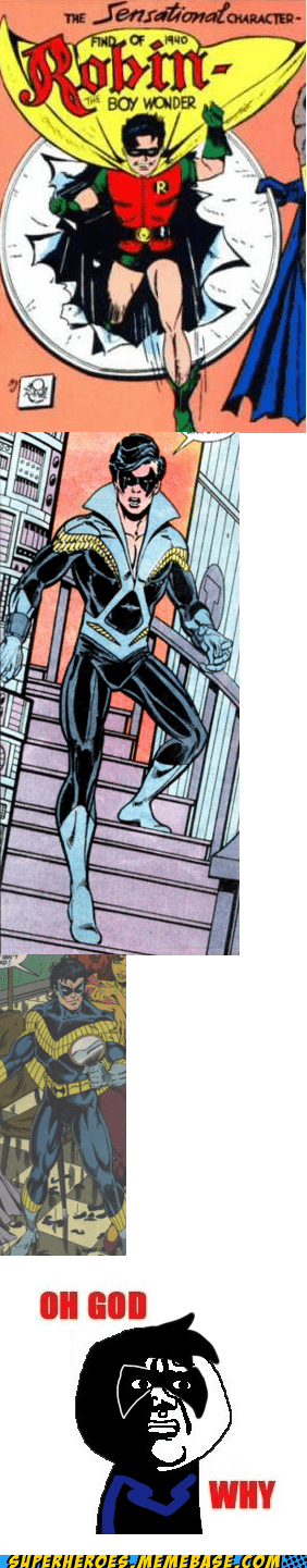 costume nightwing oh god why robin - 6622938112