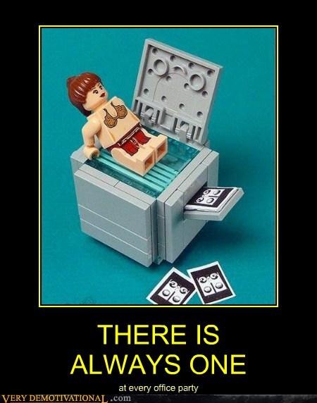 booty copy machine lego Princess Leia - 6623671040