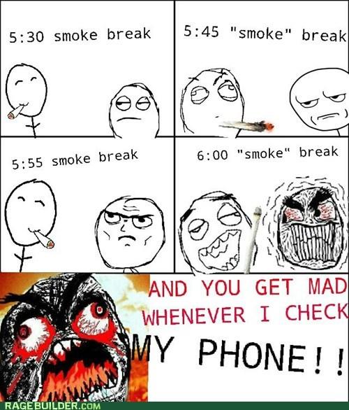 cigarettes at work Office smoking smoke break - 6624988416