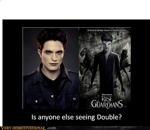 double rise of the guardians robert pattenson twilight