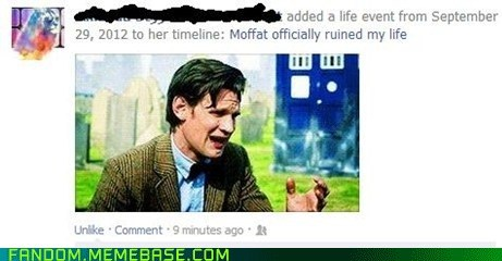 bbc doctor who facebook timeline scifi series 7 - 6625097728