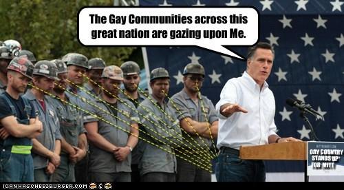 Mitt Romney gay gazing Staring butt - 6625196800