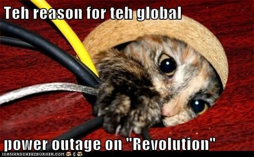Teh Reason For Teh Global Power Outage On Revolution Lolcats Lol Cat Memes Funny Cats Funny Cat Pictures With Words On Them Funny Pictures Lol Cat Memes Lol Cats