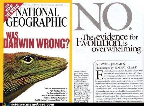 correct,Darwin,evolution,national geographic